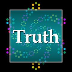 Truth Black Colorful Neon