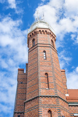 Alter Leuchturm von Stolpmünde, Polen