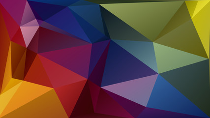 Abstract geometric polygon pattern with 