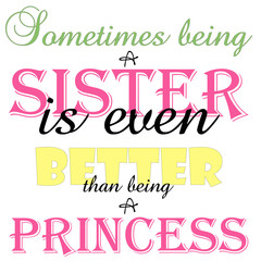 Being A Sister