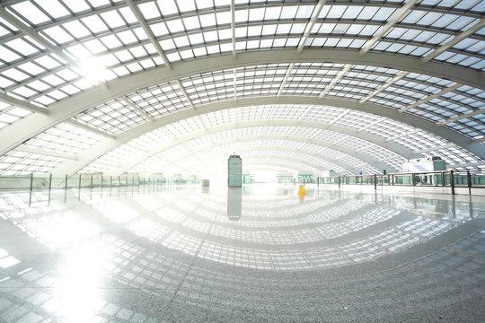 metro in beijing T3 airport station
