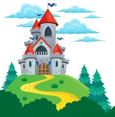 Fairy tale castle theme image 2