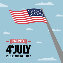 Happy independence day United States of America, 4th of July.
