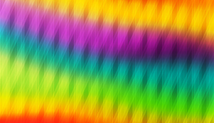 Colorfull tiled rainbow