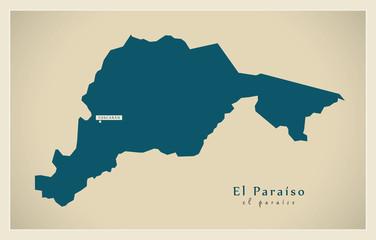 Modern Map - El Paraiso HN
