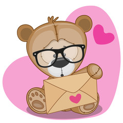 Teddy Bear with envelope