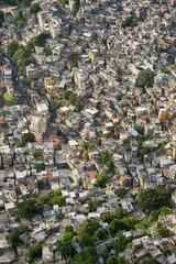Favela Brazilian Hillside Shantytown Rio de Janeiro Brazil