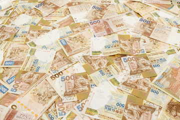 Five Hundred Hong Kong dollar