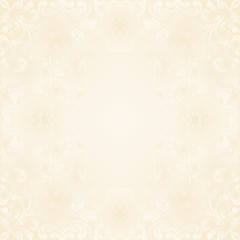 neutral background with vintage ornaments