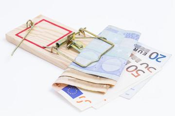 Mausefalle und Euro