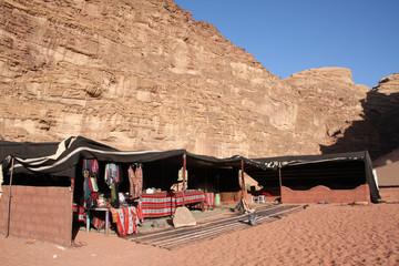 Zetl im Wadi Rum, Jordanien