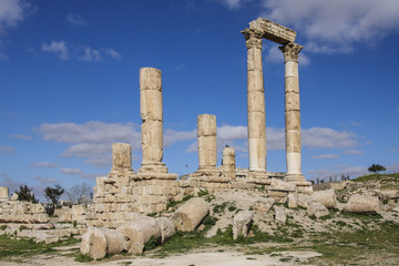 Zitadellenhügel in Amman