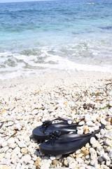 summer the beach - isola d'elba, tuscany, capo bianco beach