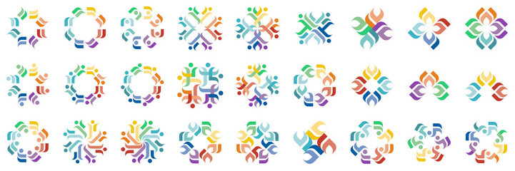 Abstract Circle Vector Design Graphic Logotype Idea