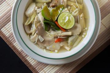 Tom Yum Thai Food