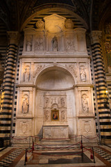 Siena Cathedral in Tuscany, Italy