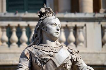 Queen Victoria Memorial in Valetta, Malta