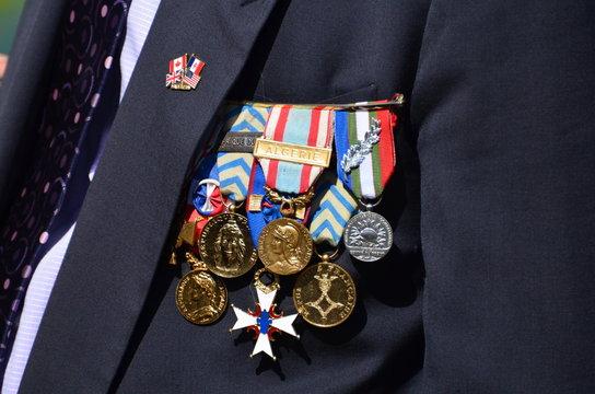 Médailles militaires françaises