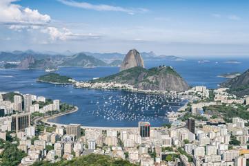 Rio de Janeiro Brazil Skyline Scenic Overlook