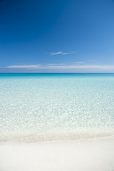 Classic Turquoise Caribbean View in Varadero Cuba