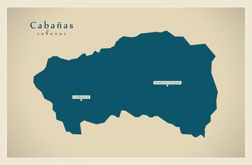 Modern Map - Cabanas SV