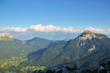 Au sommet du Charmant Som (Chartreuse sud / Isère)
