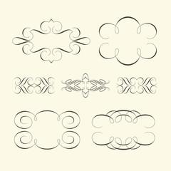 Curve design elements