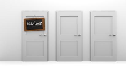 Insolvency, German 3d concept