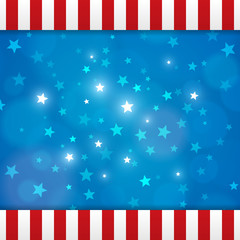 Vector american abstract star background