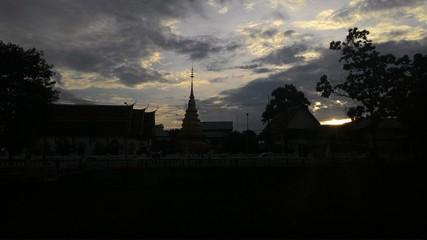 Temple KHUKUM Nan Thailand