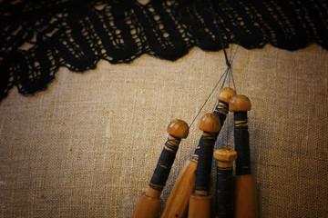 lace-making process