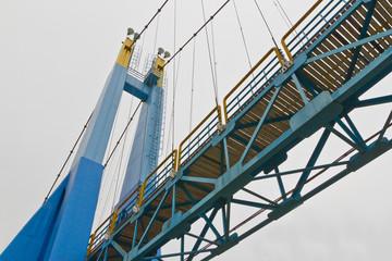 rope bridge on isolate