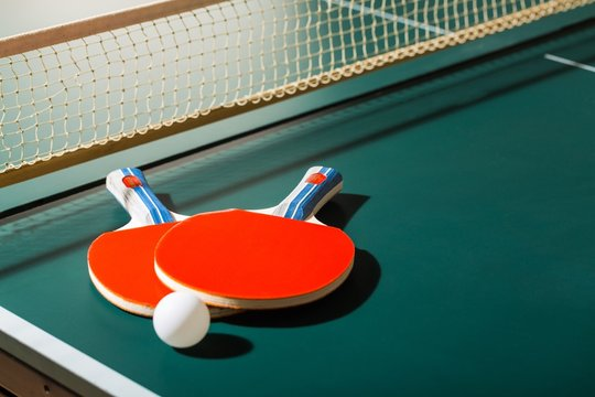 Sport, pong, ping.
