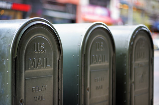 Outdoors mailboxes