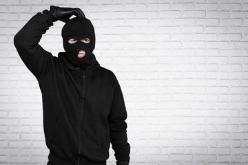 Burglar, Thief, Computer Hacker. - fototapety na wymiar