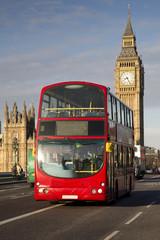 UK - London - Red Double Decker Bus