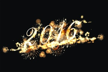 Feuerwerk mit 2016