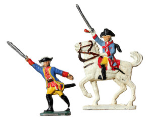 Prussian Toy Soldiers
