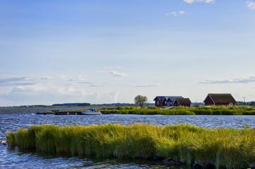 Seeidylle auf Öland, Schweden.