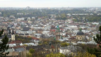 City Panorama. Lvov. Ukraine