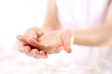 Akupresura, masaż dłoni