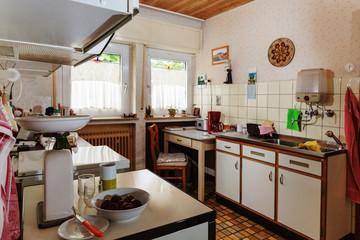 Kitchen of an elderly couple Wall mural