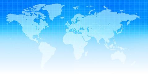 世界地図 空 背景