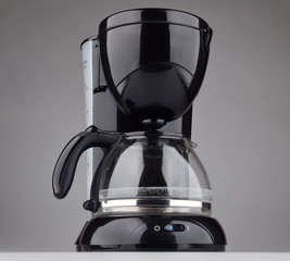 a machine for brewing coffee