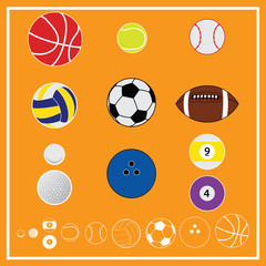 Ball Sport Vector and Icon