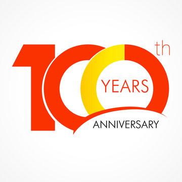 100 years anniversar logo