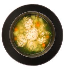 Meatballs soup