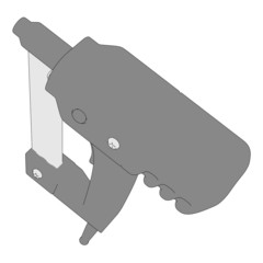 2d cartoon image of power tool