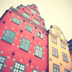 Wall Mural - Old houses on Stortorget square