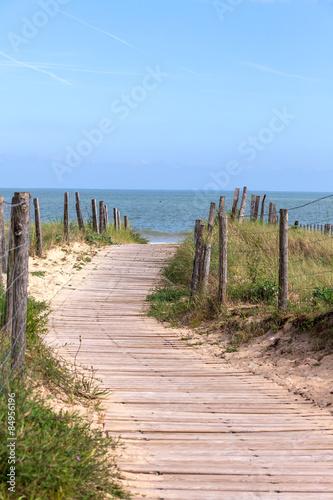 Fototapete direction la plage !